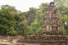Το Siem συγκεντρώνει, Καμπότζη - 13 Δεκεμβρίου 2016: Neak Pean σε Angkor ένας διάσημος Στοκ Φωτογραφίες