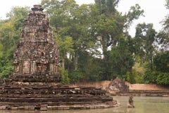 Το Siem συγκεντρώνει, Καμπότζη - 13 Δεκεμβρίου 2016: Neak Pean σε Angkor ένας διάσημος Στοκ Εικόνα