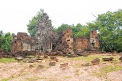 Το Siem συγκεντρώνει, Καμπότζη - 13 Δεκεμβρίου 2016: Prasat Prei σε Angkor ένα famo Στοκ Εικόνες