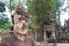 Το Siem συγκεντρώνει, Καμπότζη - 13 Δεκεμβρίου 2016: Preah Khan σε Angkor ένα famou Στοκ φωτογραφία με δικαίωμα ελεύθερης χρήσης