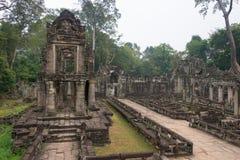 Το Siem συγκεντρώνει, Καμπότζη - 13 Δεκεμβρίου 2016: Preah Khan σε Angkor ένα famou Στοκ Εικόνες