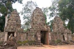 Το Siem συγκεντρώνει, Καμπότζη - 13 Δεκεμβρίου 2016: Preah Khan σε Angkor ένα famou Στοκ φωτογραφίες με δικαίωμα ελεύθερης χρήσης