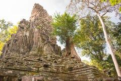 Το Siem συγκεντρώνει, Καμπότζη - 10 Δεκεμβρίου 2016: Preah Palilay σε Angkor Thom Στοκ Εικόνες