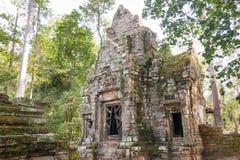 Το Siem συγκεντρώνει, Καμπότζη - 10 Δεκεμβρίου 2016: Preah Palilay σε Angkor Thom Στοκ φωτογραφία με δικαίωμα ελεύθερης χρήσης