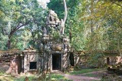 Το Siem συγκεντρώνει, Καμπότζη - 10 Δεκεμβρίου 2016: Preah Palilay σε Angkor Thom Στοκ Εικόνα