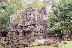 Το Siem συγκεντρώνει, Καμπότζη - 10 Δεκεμβρίου 2016: Preah Pithu σε Angkor Thom Α Στοκ φωτογραφία με δικαίωμα ελεύθερης χρήσης