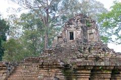 Το Siem συγκεντρώνει, Καμπότζη - 10 Δεκεμβρίου 2016: Preah Pithu σε Angkor Thom Α Στοκ εικόνα με δικαίωμα ελεύθερης χρήσης