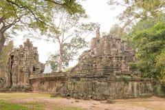 Το Siem συγκεντρώνει, Καμπότζη - 10 Δεκεμβρίου 2016: Preah Pithu σε Angkor Thom Α Στοκ Εικόνες