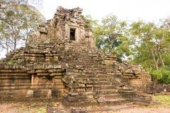Το Siem συγκεντρώνει, Καμπότζη - 10 Δεκεμβρίου 2016: Preah Pithu σε Angkor Thom Α Στοκ Εικόνα