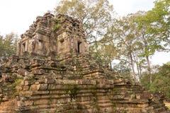Το Siem συγκεντρώνει, Καμπότζη - 10 Δεκεμβρίου 2016: Preah Pithu σε Angkor Thom Α Στοκ Φωτογραφία
