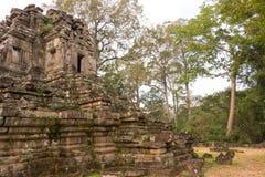 Το Siem συγκεντρώνει, Καμπότζη - 10 Δεκεμβρίου 2016: Preah Pithu σε Angkor Thom Α Στοκ εικόνες με δικαίωμα ελεύθερης χρήσης