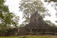 Το Siem συγκεντρώνει, Καμπότζη - 10 Δεκεμβρίου 2016: Preah Pithu σε Angkor Thom Α Στοκ Φωτογραφίες
