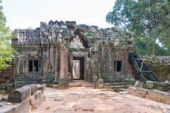 Το Siem συγκεντρώνει, Καμπότζη - 11 Δεκεμβρίου 2016: SOM TA σε Angkor ένας διάσημος γεια Στοκ εικόνες με δικαίωμα ελεύθερης χρήσης