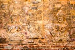 Το Siem συγκεντρώνει, Καμπότζη - 30 Νοεμβρίου 2016: Ανακούφιση σε Prasat Kravan Στοκ Εικόνες