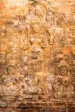 Το Siem συγκεντρώνει, Καμπότζη - 30 Νοεμβρίου 2016: Ανακούφιση σε Prasat Kravan Στοκ Φωτογραφία
