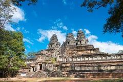 Το Siem συγκεντρώνει, Καμπότζη - 30 Νοεμβρίου 2016: Ναός TA Keo σε Angkor ένα FA Στοκ Φωτογραφία