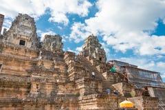 Το Siem συγκεντρώνει, Καμπότζη - 30 Νοεμβρίου 2016: Ναός TA Keo σε Angkor ένα FA Στοκ Εικόνες