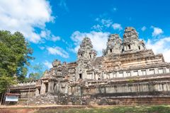 Το Siem συγκεντρώνει, Καμπότζη - 30 Νοεμβρίου 2016: Ναός TA Keo σε Angkor ένα FA Στοκ φωτογραφία με δικαίωμα ελεύθερης χρήσης
