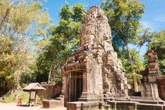 Το Siem συγκεντρώνει, Καμπότζη - 30 Νοεμβρίου 2016: Ναός TA Prohm σε Angkor Α Στοκ Φωτογραφίες