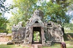Το Siem συγκεντρώνει, Καμπότζη - 30 Νοεμβρίου 2016: Banteay Kdei σε Angkor ένα fam Στοκ Φωτογραφίες