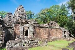 Το Siem συγκεντρώνει, Καμπότζη - 30 Νοεμβρίου 2016: Banteay Kdei σε Angkor ένα fam Στοκ εικόνα με δικαίωμα ελεύθερης χρήσης