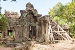 Το Siem συγκεντρώνει, Καμπότζη - 30 Νοεμβρίου 2016: Banteay Kdei σε Angkor ένα fam Στοκ Εικόνες