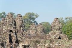 Το Siem συγκεντρώνει, Καμπότζη - 3 Φεβρουαρίου 2015: Angkor Thom διάσημος ένας ιστορικός Στοκ εικόνες με δικαίωμα ελεύθερης χρήσης