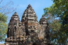 Το Siem συγκεντρώνει, Καμπότζη - 4 Φεβρουαρίου 2015: Angkor Thom διάσημος ένας ιστορικός Στοκ Φωτογραφία