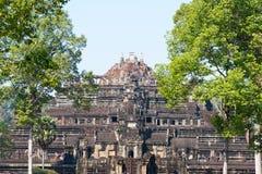 Το Siem συγκεντρώνει, Καμπότζη - 3 Φεβρουαρίου 2015: Angkor Thom διάσημος ένας ιστορικός Στοκ φωτογραφία με δικαίωμα ελεύθερης χρήσης