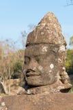 Το Siem συγκεντρώνει, Καμπότζη - 4 Φεβρουαρίου 2015: Angkor Thom διάσημος ένας ιστορικός Στοκ εικόνες με δικαίωμα ελεύθερης χρήσης
