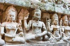 Το Siem συγκεντρώνει, Καμπότζη - 3 Φεβρουαρίου 2015: Angkor Thom διάσημος ένας ιστορικός Στοκ φωτογραφίες με δικαίωμα ελεύθερης χρήσης