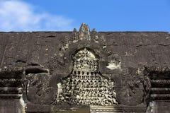 Το Siem συγκεντρώνει την αρχαία γλυπτική πετρών χορευτών apsara Angkor Wat Στοκ εικόνες με δικαίωμα ελεύθερης χρήσης