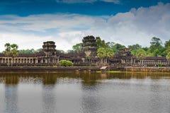Το Siem συγκεντρώνει, τοπίο της Καμπότζης Angkor Wat Στοκ φωτογραφία με δικαίωμα ελεύθερης χρήσης