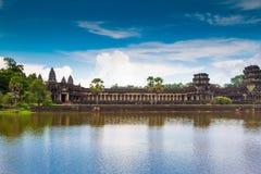 Το Siem συγκεντρώνει, τοπίο της Καμπότζης Angkor Wat Στοκ Εικόνα