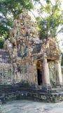 Το Siem συγκεντρώνει το ναό της Καμπότζης στοκ εικόνα