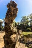 Το Siem συγκεντρώνει Angkor Wat Preah Khan είναι ένας ναός σε Angkor, Καμπότζη, που χτίζεται στο 12ο αιώνα για το βασιλιά Jayavar Στοκ Εικόνες