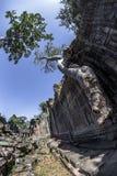 Το Siem συγκεντρώνει Angkor Wat Preah Khan είναι ένας ναός σε Angkor, Καμπότζη, που χτίζεται στο 12ο αιώνα για το βασιλιά Jayavar Στοκ φωτογραφίες με δικαίωμα ελεύθερης χρήσης