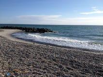 Το Skagerag συναντά τη θάλασσα Horth στοκ εικόνα