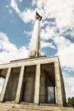Το Slavin είναι το αναμνηστικό μνημείο και το στρατιωτικό νεκροταφείο σε Bratisl Στοκ Εικόνες