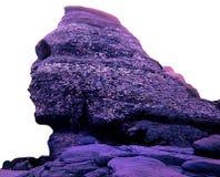 Το Sphinx Bucegi στοκ φωτογραφία