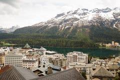 ST Moritz Ελβετία Στοκ εικόνα με δικαίωμα ελεύθερης χρήσης