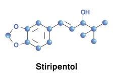 Το Stiripentol είναι ένα σπασμολυτικό φάρμακο ελεύθερη απεικόνιση δικαιώματος