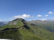 Το Stubnerkogel σε κακό Gastein Almorama, Σάλτζμπουργκ, Αυστρία Στοκ εικόνα με δικαίωμα ελεύθερης χρήσης