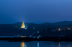 Το stupa Στοκ Εικόνα
