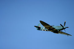 Το Supermarine Spitfire είναι βρετανικά μαχητικά αεροσκάφη ενιαίος-καθισμάτων που χρησιμοποιήθηκαν από τη Royal Air Force Στοκ φωτογραφίες με δικαίωμα ελεύθερης χρήσης
