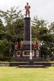 Το Tanah Aron βρίσκεται στο πόδι του υποστηρίγματος Agung Στοκ Φωτογραφίες