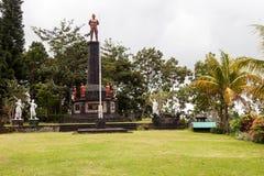Το Tanah Aron βρίσκεται στο πόδι του υποστηρίγματος Agung Στοκ εικόνα με δικαίωμα ελεύθερης χρήσης
