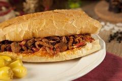 Το tantuni βόειου κρέατος κρέατος είναι ένα είδος παραδοσιακού τουρκικού kebap στοκ εικόνα με δικαίωμα ελεύθερης χρήσης