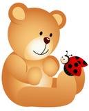 Το Teddy αντέχει με τη λαμπρίτσα απεικόνιση αποθεμάτων