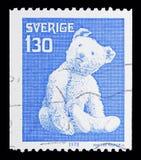 Το Teddy αντέχει, παλαιά παιχνίδια serie, circa το 1978 Στοκ εικόνες με δικαίωμα ελεύθερης χρήσης